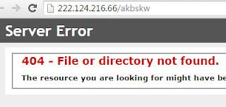 SIPKD Kota Singkawang Server Error