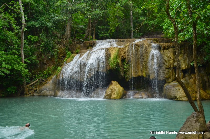 Erawan falls and National Park Kanchanaburi - eNidhi India