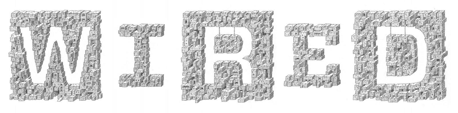SON OF THE FOREST: Wired Magazine UK logo reinterpretation