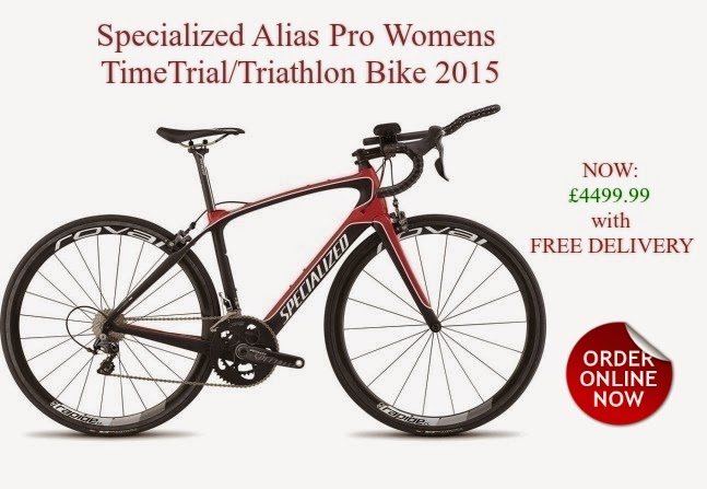 2015 Specialized Alias Pro TimeTrial/Triathlon Bike for Womens