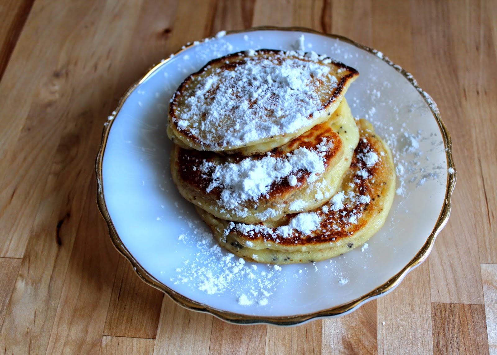 Sprinkles of Life: Whole Wheat Lemon Poppy Seed Pancakes