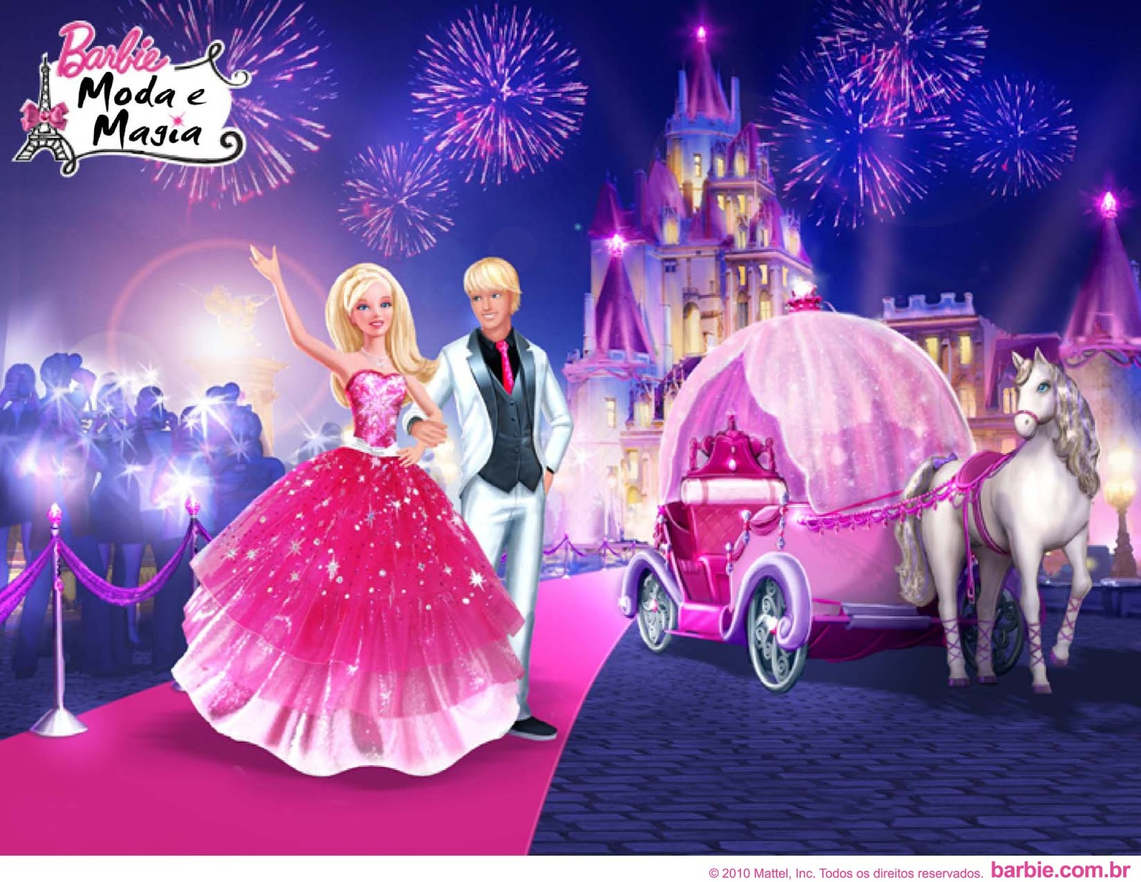 Barbie a fashion fairytale games for girls 12