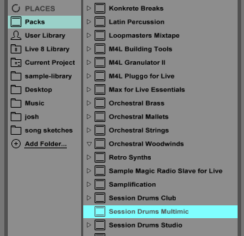 Konstruct Noise: Ableton Live - Moving Factory Packs to Another ...