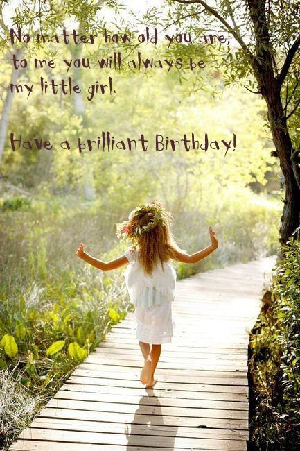Daughter Birthday Quotes, Sayings and Wishes