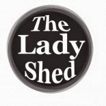 I write for The Lady Shed website