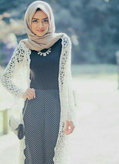 Muslim girl in hijab n top trouser