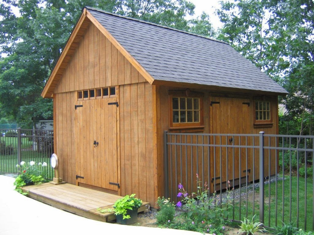 Wood Sheds Plans Design