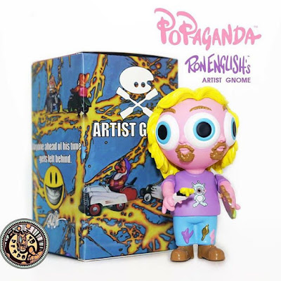 Designer Con 2015 Exclusive OG Edition Artist Gnome Vinyl Figure by Ron English x 3DRetro