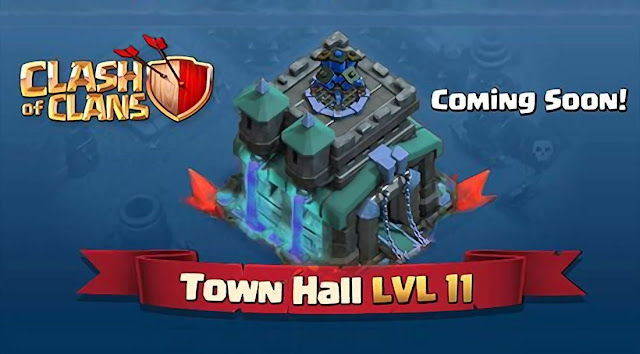 Clash of Clans Update! Town Hall 11, Halloween, Night Mode dan Troops Baru