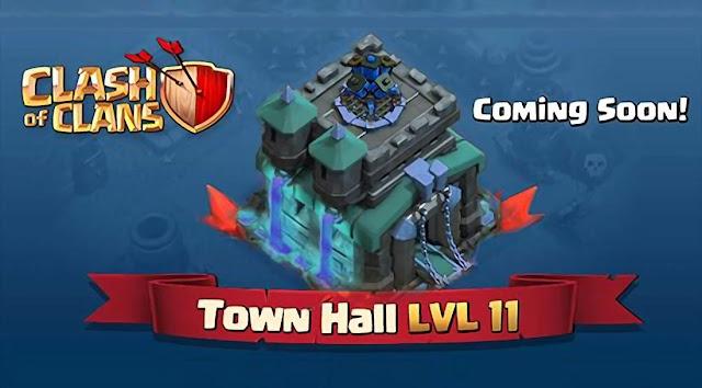 Clash of Clans Update! Town Hall 11, Halloween, Night Mode dan Troops Baru