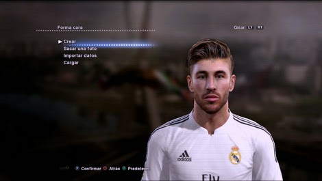 PES 2013 Sergio Ramos and Juan Vargas Face by Bryan9