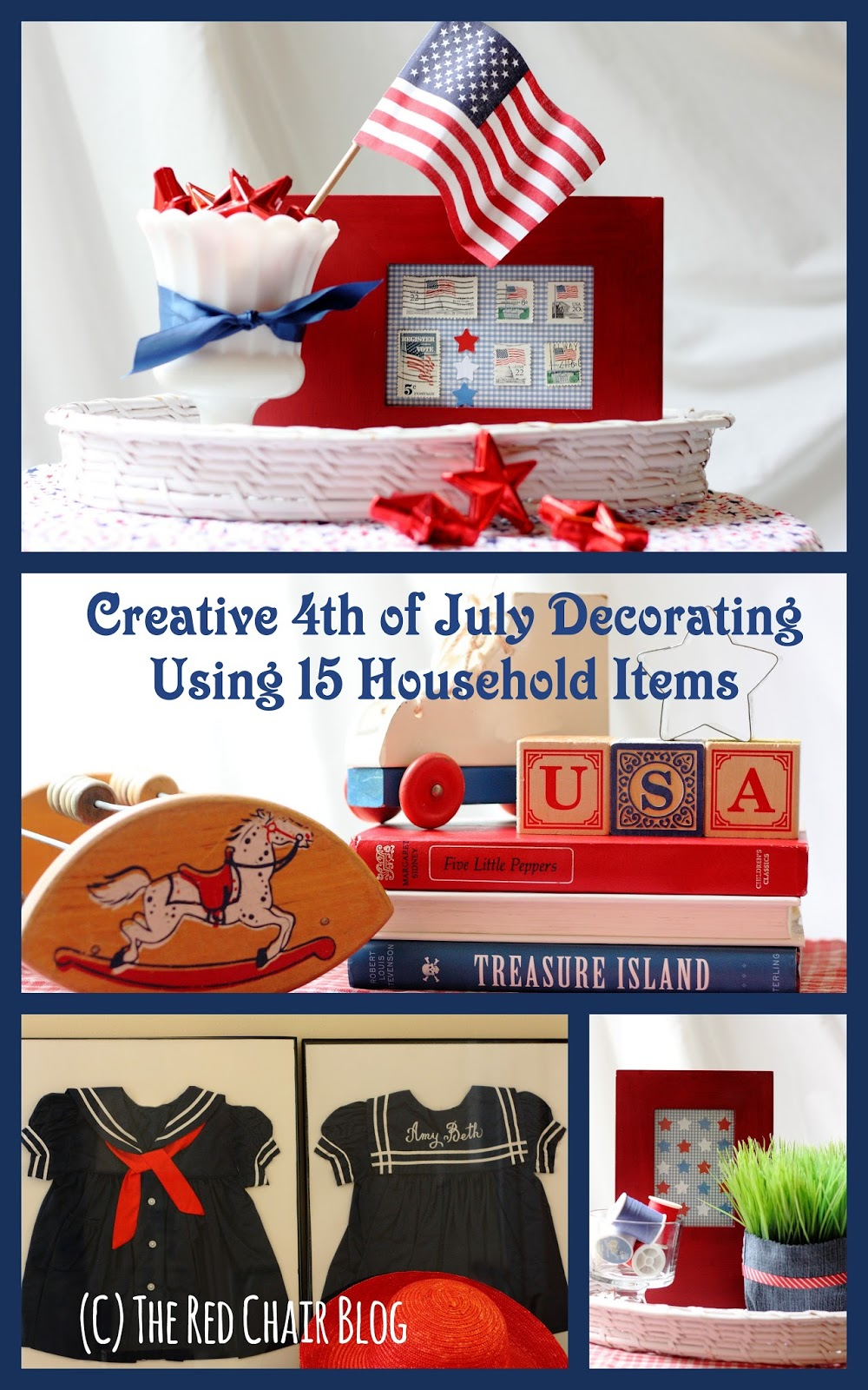 The Red Chair Blog: Creative 4th of July Decorating Ideas Using ...