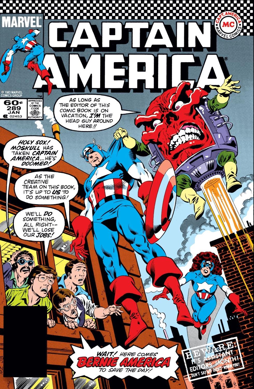 Captain America (1968) Issue #289 #205 - English 1
