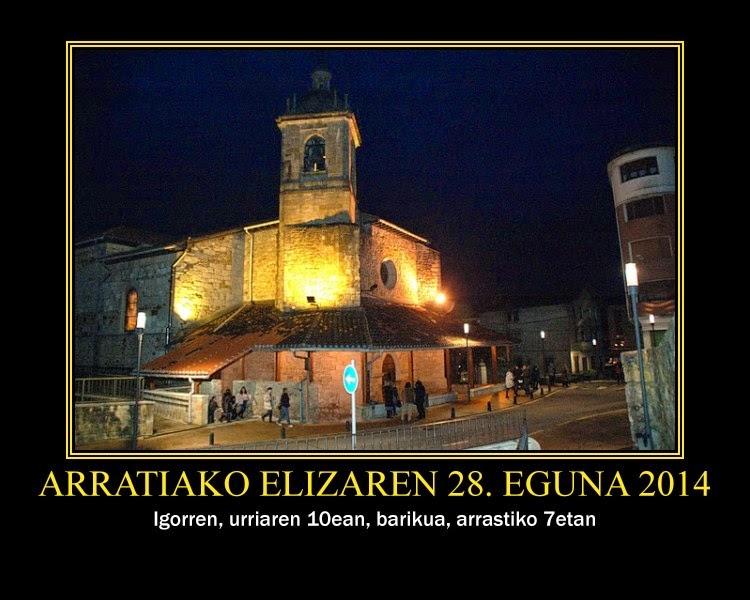 Arratiako Elizaren Eguna 2014 Argazkiak
