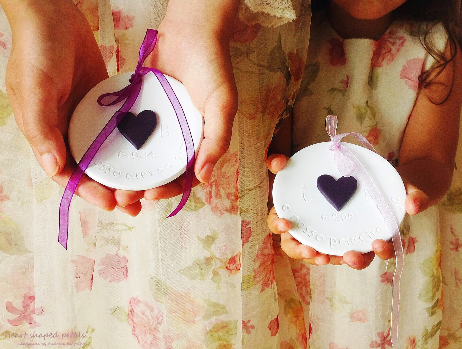 Ring bearer dish with heart