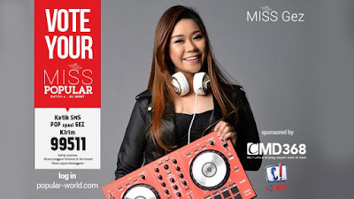 MISS POPULAR 2015 : DJ Gez