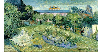 El jardín de Daubigny - Vincent Van Gogh