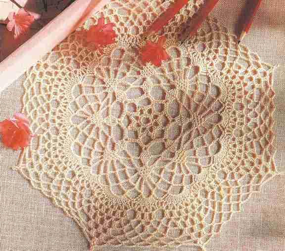 "Tapete ""Adorno octagonal"" a Crochet"