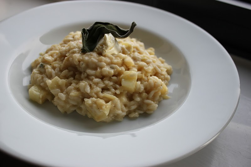 Culinary Conquests: Parsnip and Apple Risotto