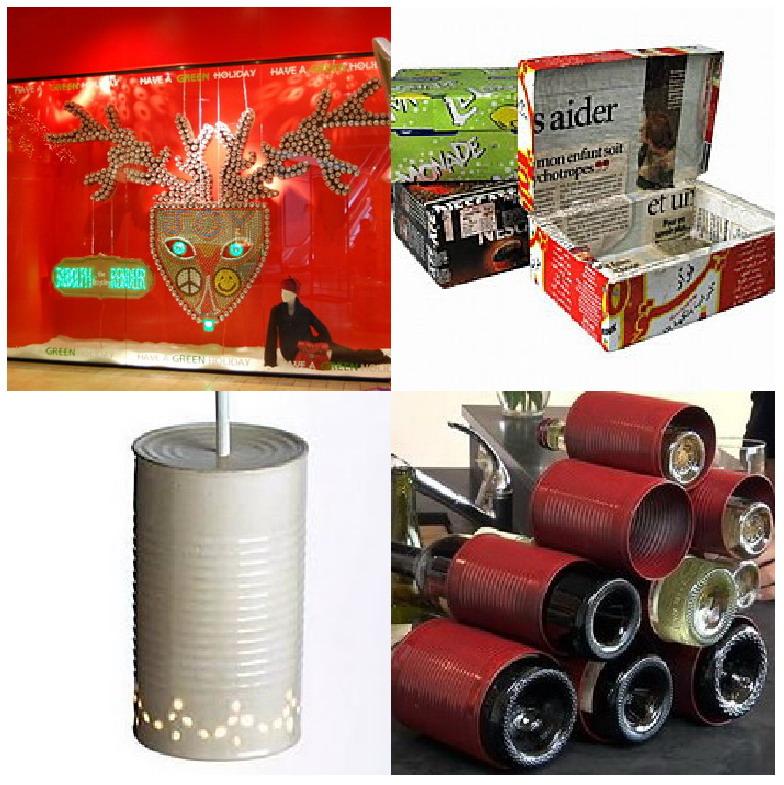El mundo del reciclaje reciclar una lata - Reciclar latas de refresco ...
