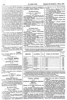 Gaceta de Madrid, creación pomológica de Tiñana