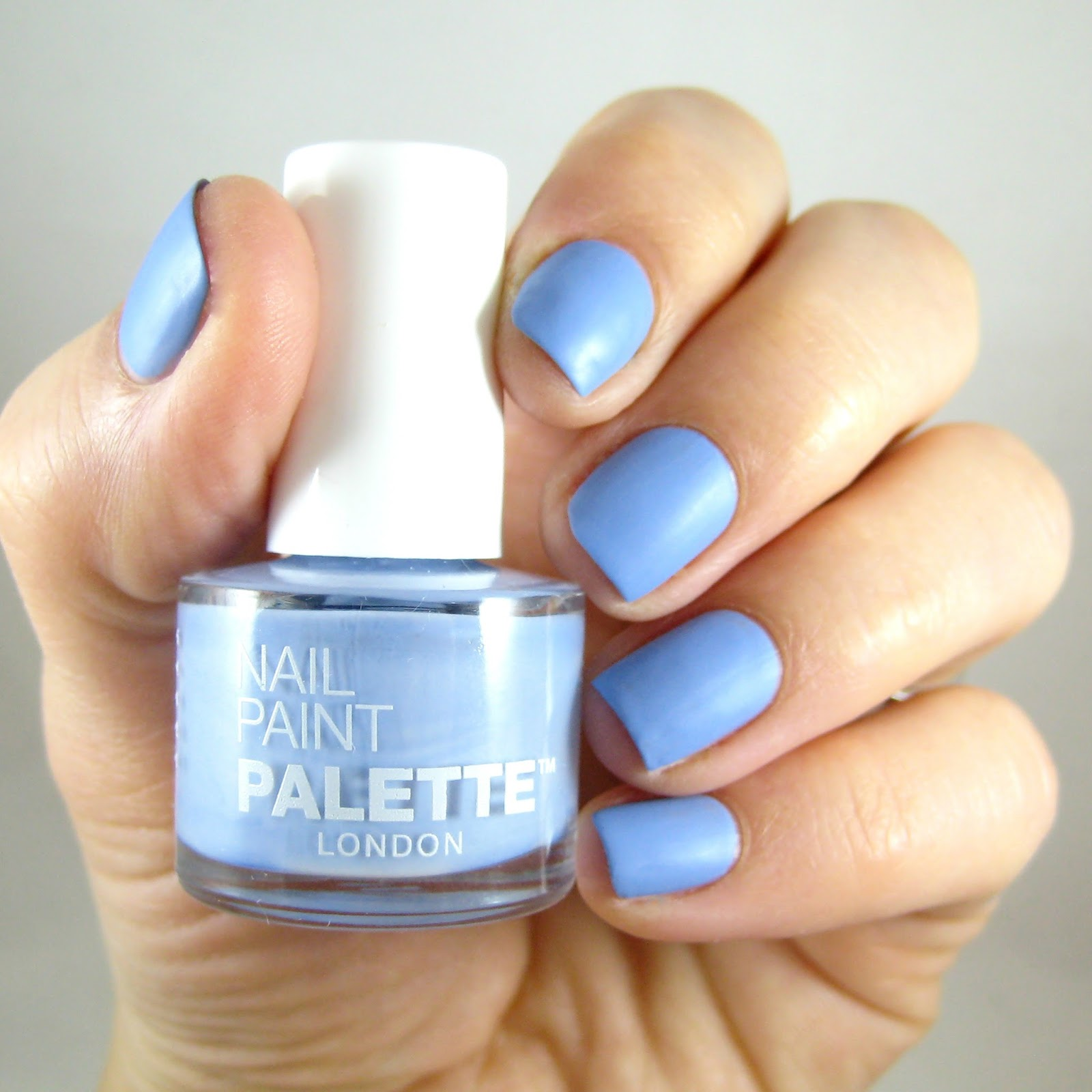 dahlia nails: create your own nail paint with palette london