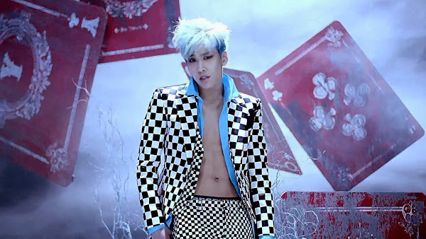 Boyfriend's Hyunseong in Bounce MV