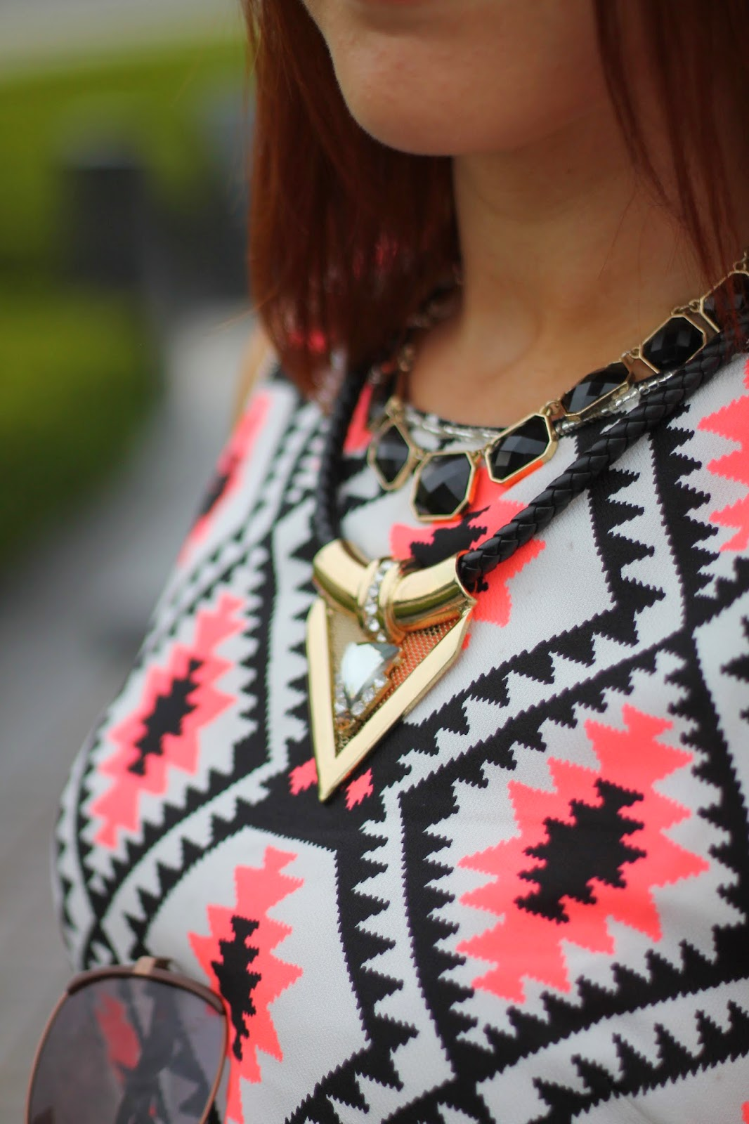 topshop, statement, necklace