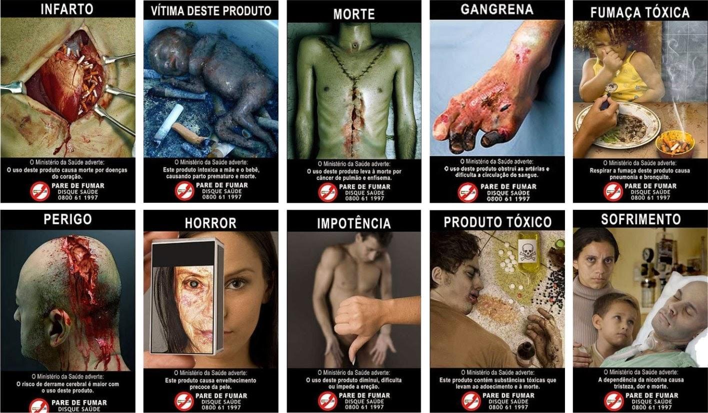 O Ministério da Saúde realiza diversas campanhas para divulgar os malefícios do cigarro e conscientizar a população