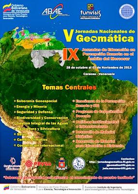 geomática, geodesia, ingeniería, V jornadas de geomatica