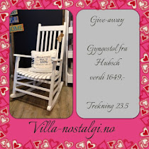 Give away hos Villa Nostalgi
