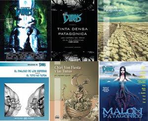 Ediciones de LA DUENDES en papel, títulos 7 a 12