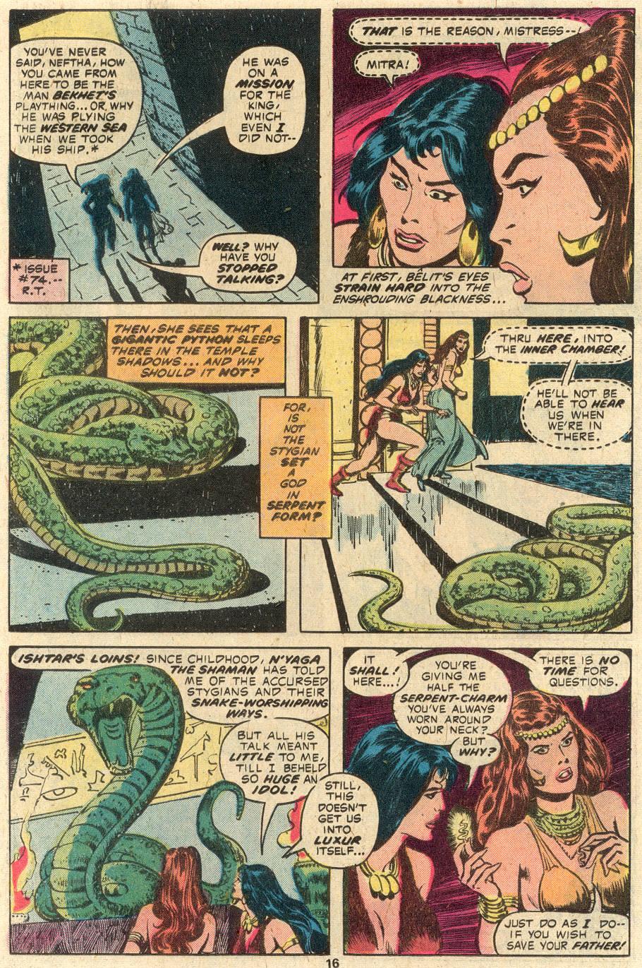 Conan the Barbarian (1970) Issue #84 #96 - English 11