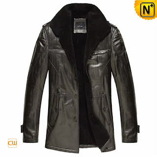 Black Sheepskin Jacket