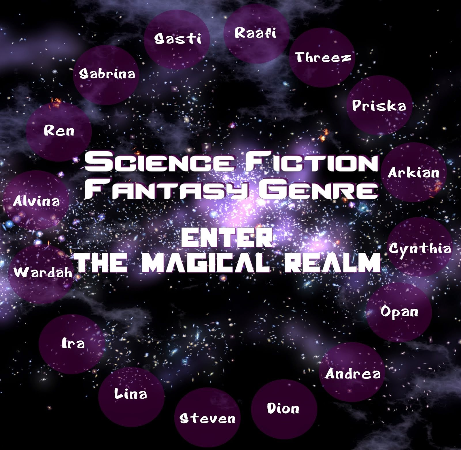 Around the Genres in 30 Days: Science Fiction & Fantasy