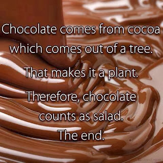 chocolate factoid