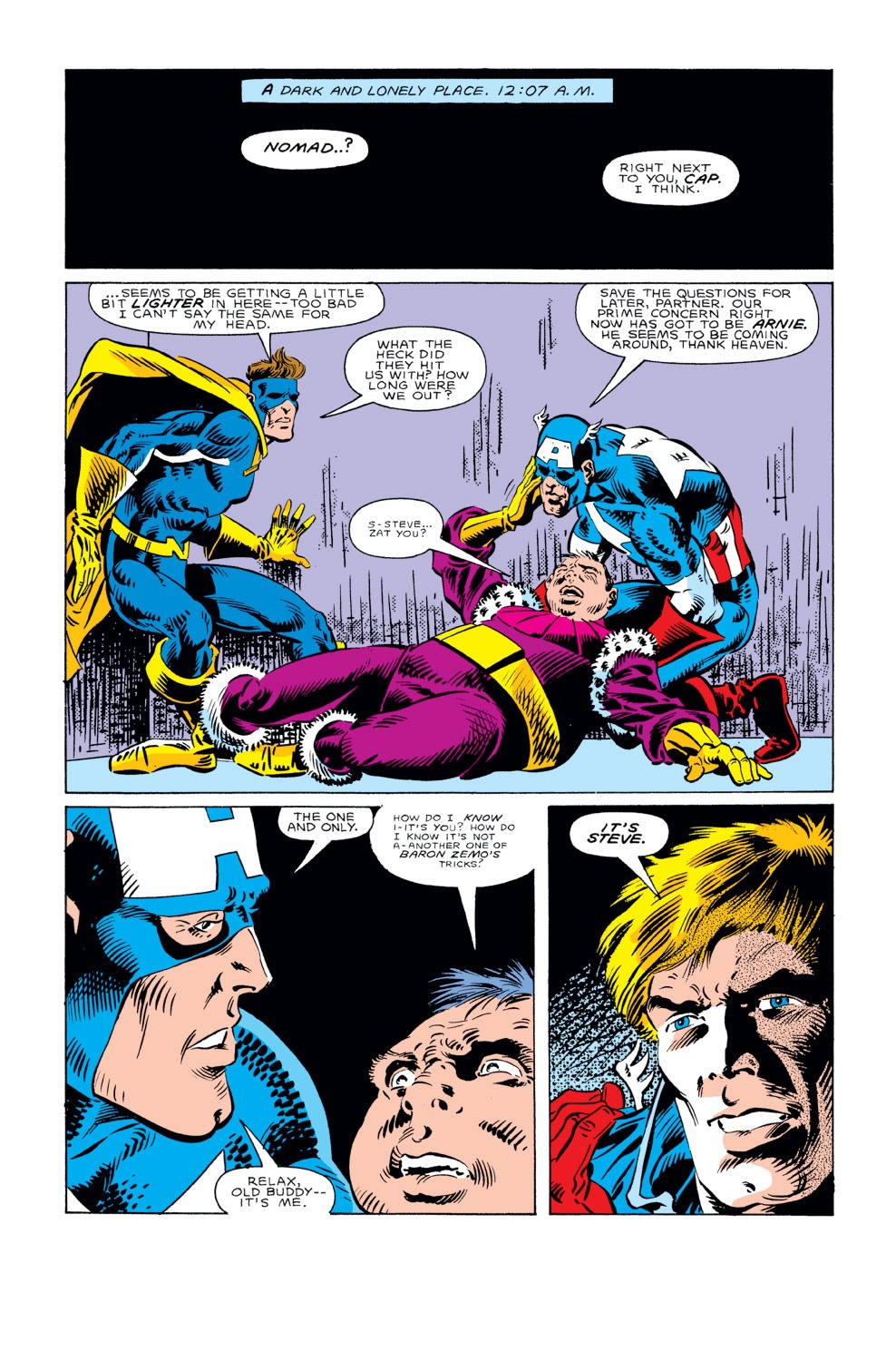 Captain America (1968) Issue #296 #224 - English 6