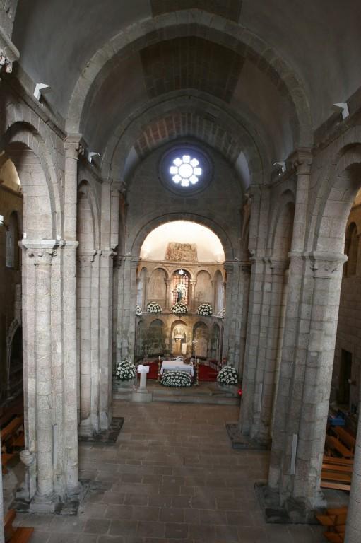 Santiago de Compostela: Santa María la Real de Sar,