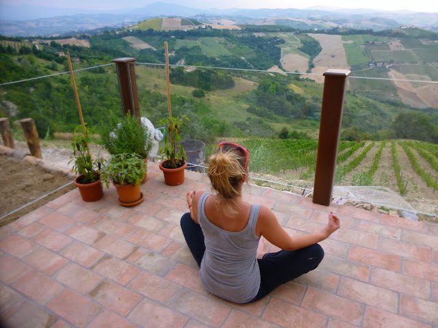 yoga italy