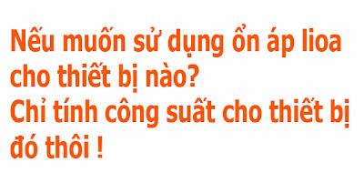chon on ap lioa cho phu hop