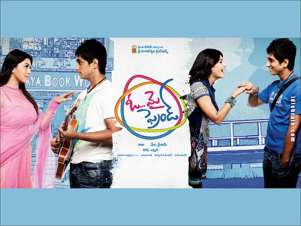 Oh My Friend (2011) DVDSCR Telugu Movie