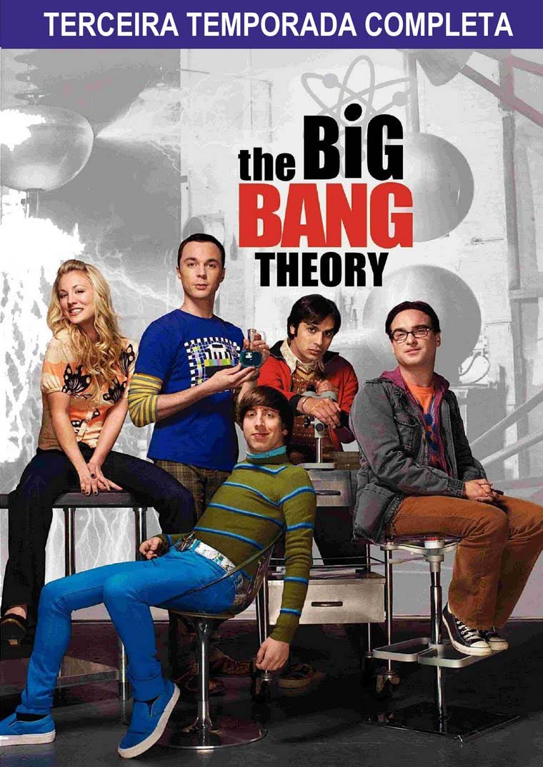 The Big Bang Theory 3ª Temporada Torrent – BluRay 720p Dublado (2009)