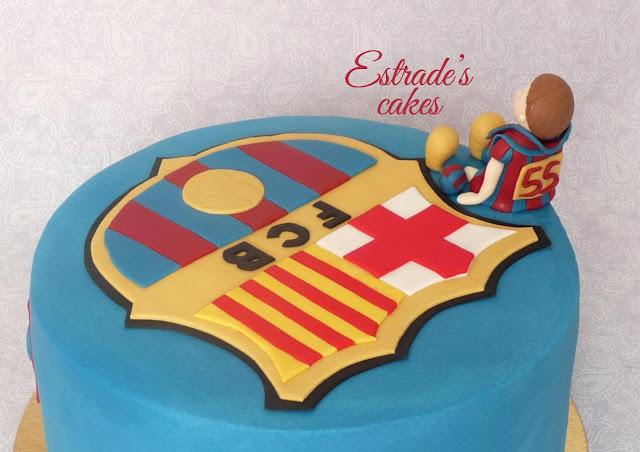 tarta del Barcelona 5