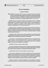 ORDEN de 16 de agosto de 2013, por la que se modifica la Orden de 14 de diciembre de 2012