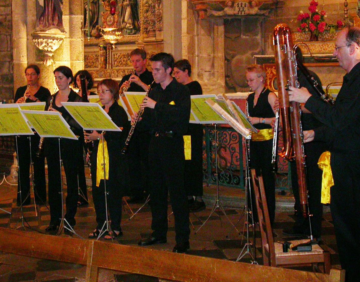 Concert en Bretagne lors de la Tournée 2004