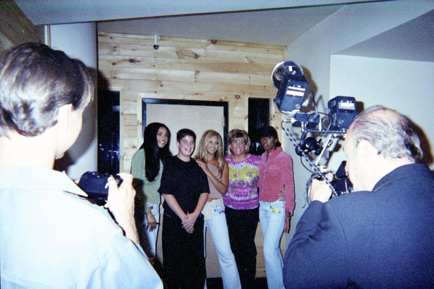 MTV Awards with Destiny's Child and Levis