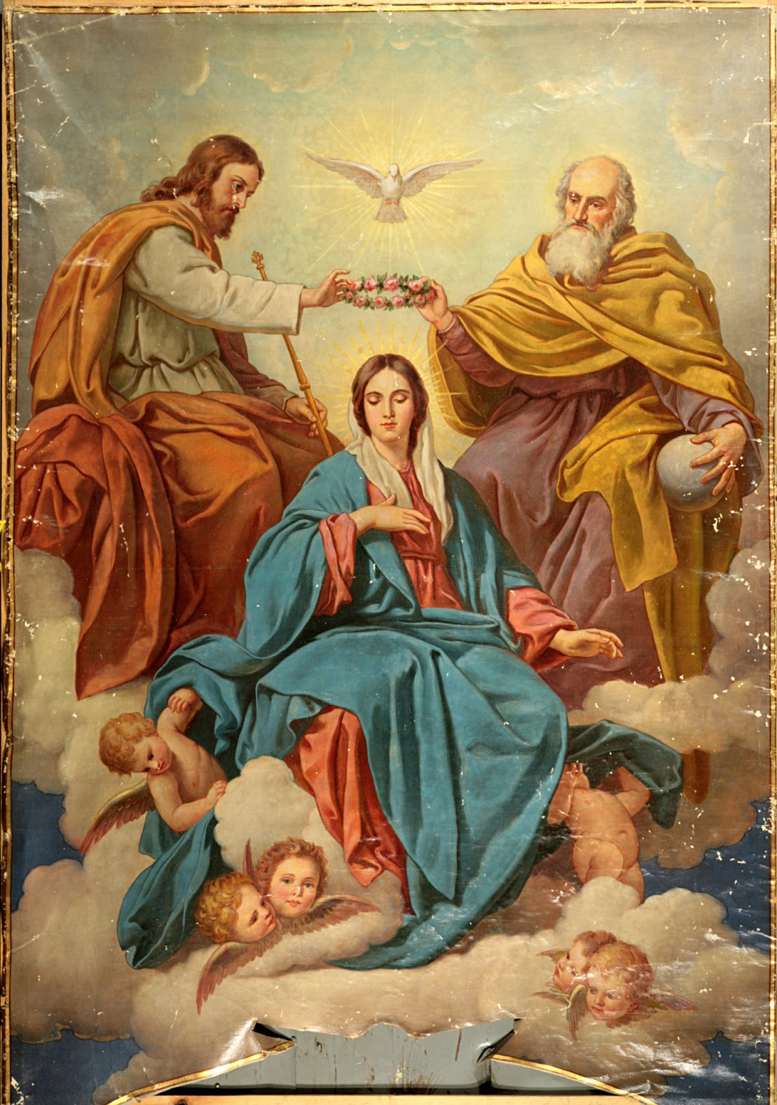 Famous Painting Of The Virgin Mary With Infant Jesus
