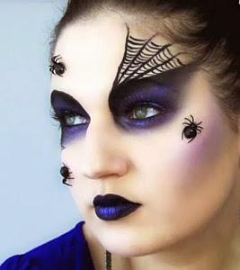 Halloween, Maquillaje de Mujer