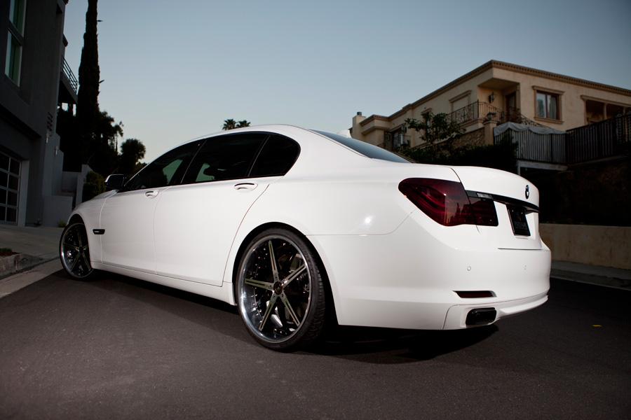 Blaque Diamond BD 7 Wheels On New BMW Series