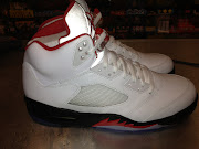 AIR JORDAN 5 V FIRE RED